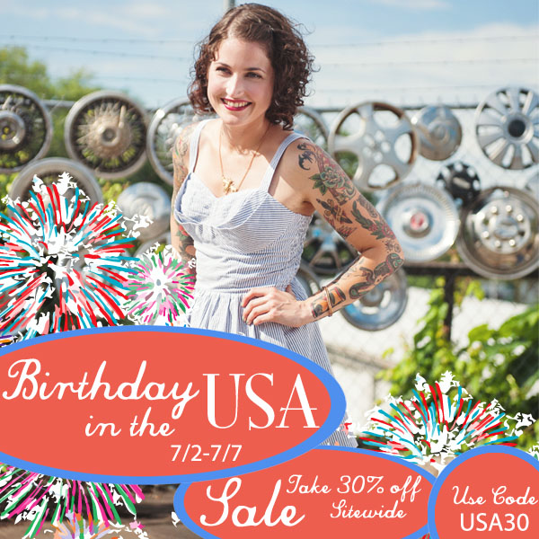 USA BIRTHDAY SALE