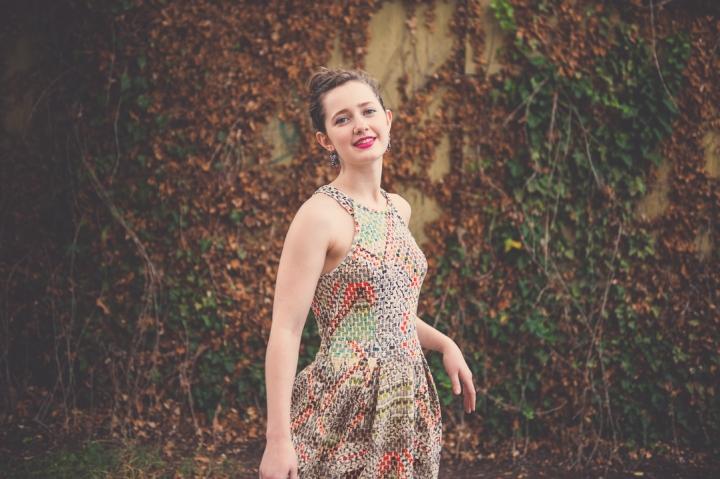 Basket Weave Dress