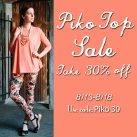 Back To School Piko Top SALE