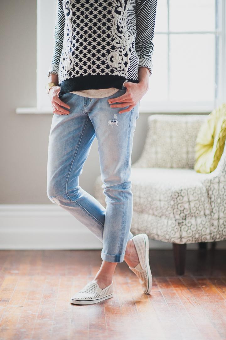 Neuw Denim Sister Ray Boyfriend Jeans
