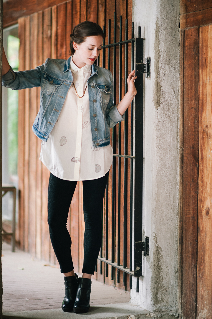 Paige jean jacket