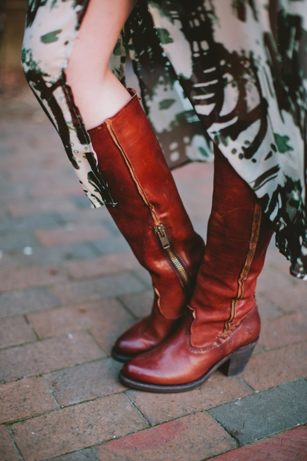 Leslie Tall Boots Frye