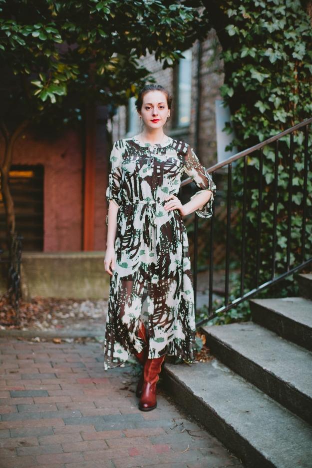 Eco-Chic Maxi Dress