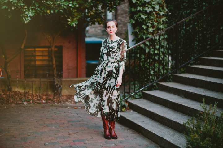 Eco Chic Maxi Dress, Frye Boots