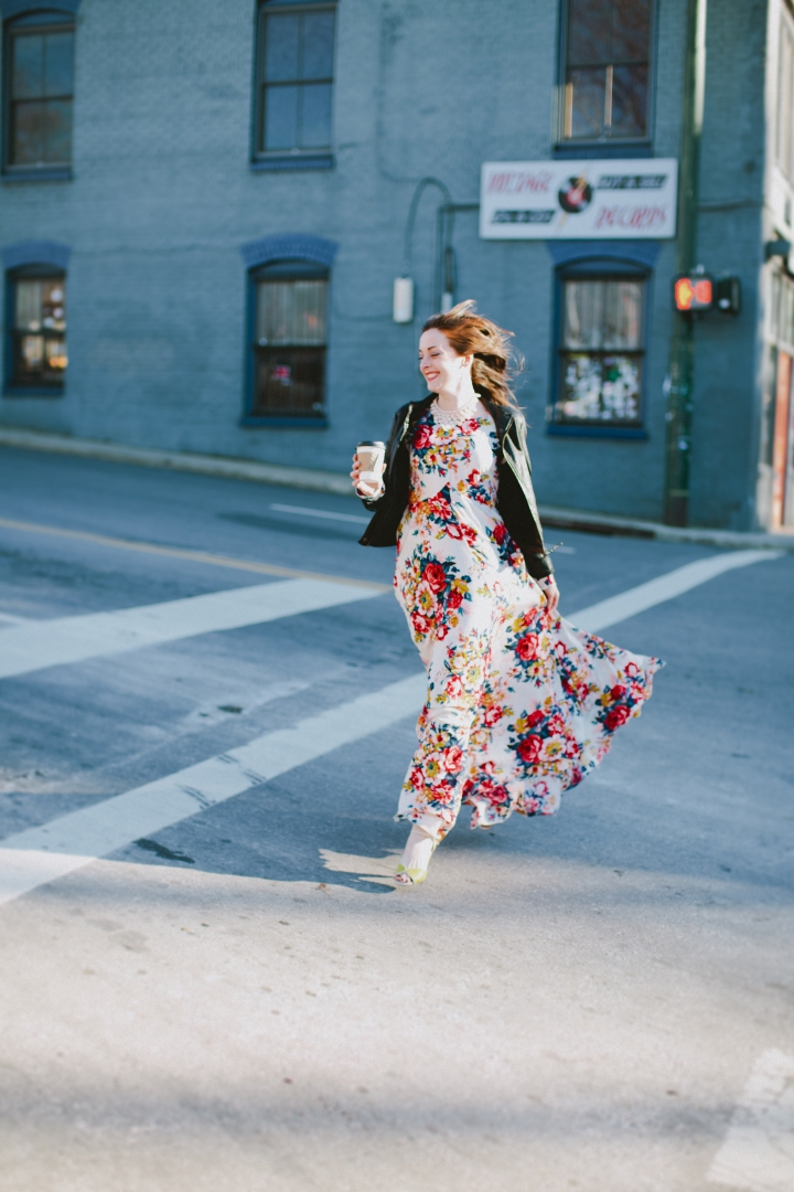 Ark & Co. Floral Maxi Dress