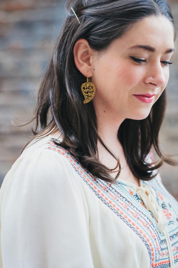 Filagree Earrings