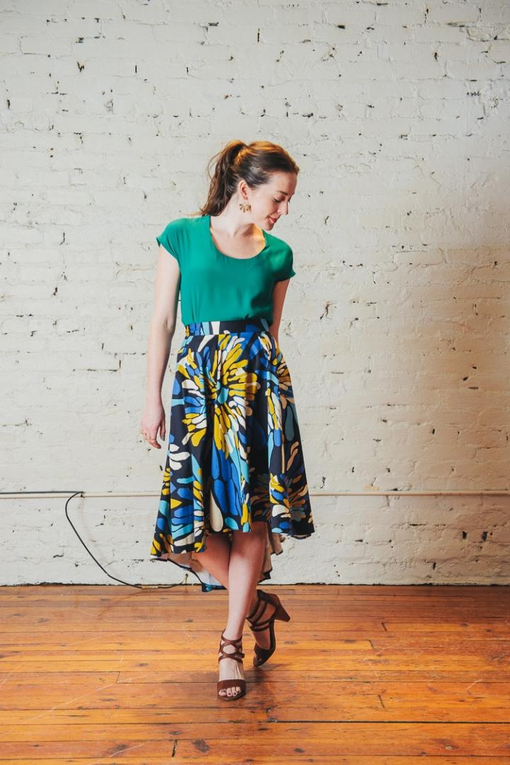 Closet Hi-Lo Skirt