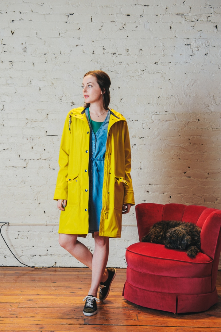 Joules Yellow Raincoat