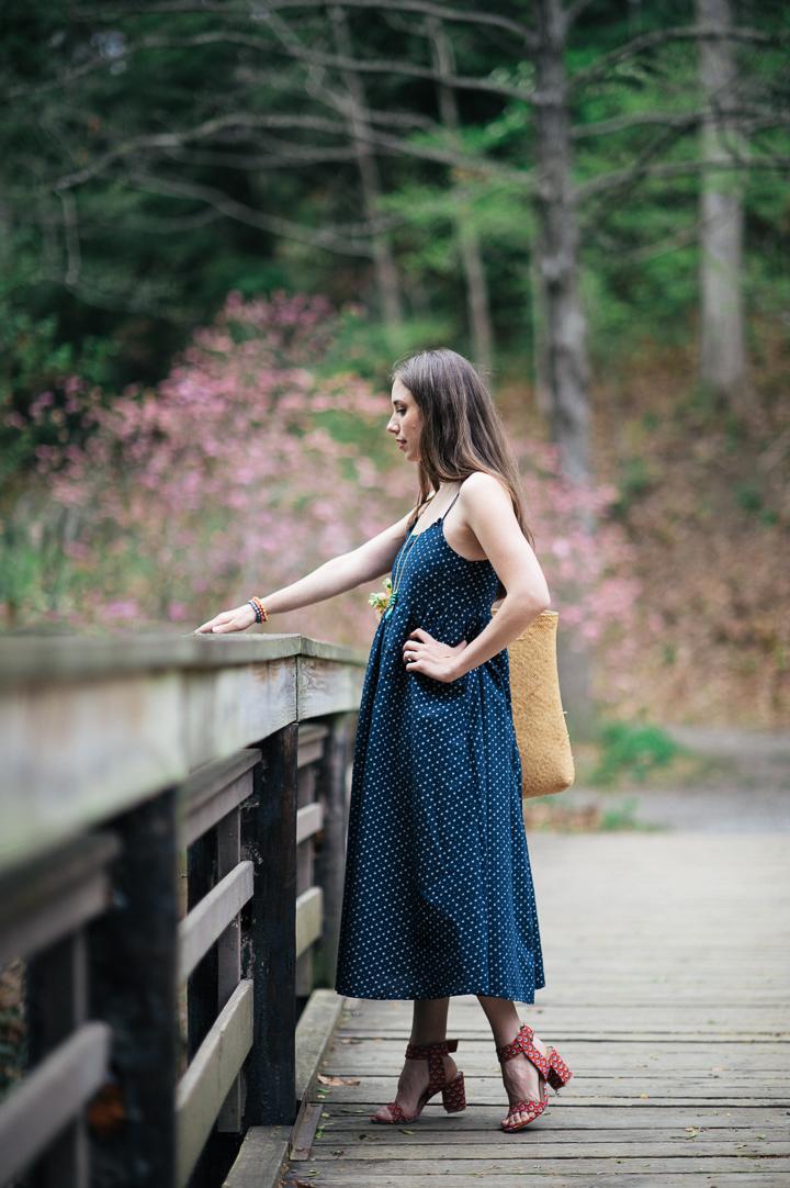 The Hanger Printed Midi Dress