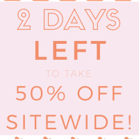 Hurry! Only 2 Days Left to Shop Online!
