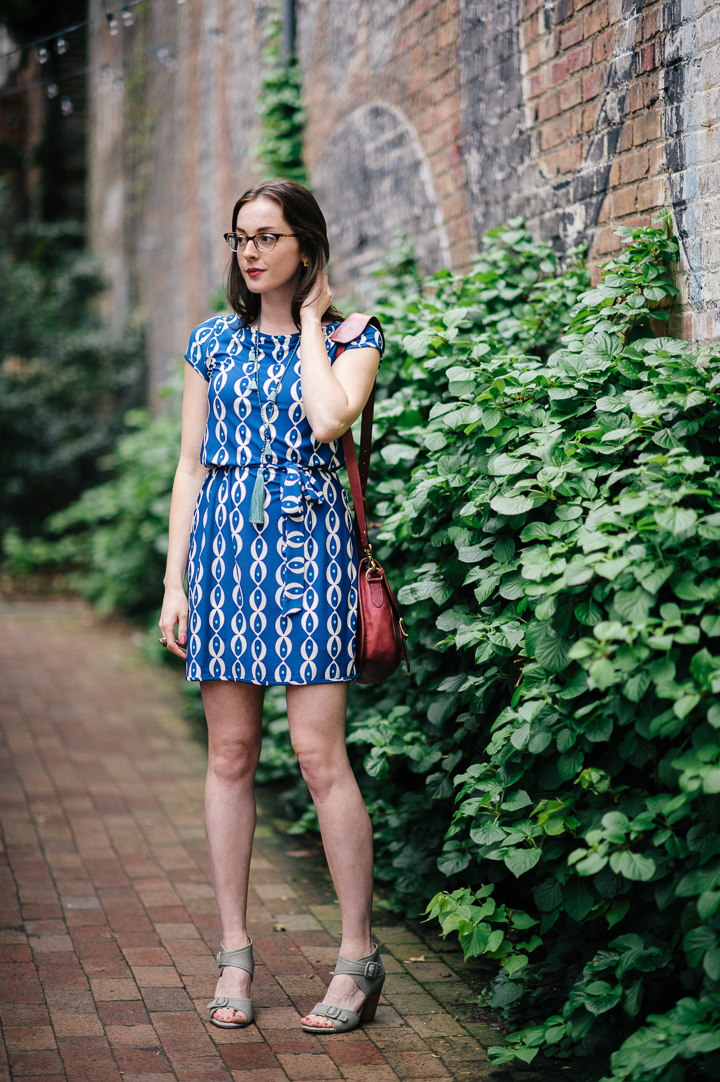 Leota Savannah Cap Sleeve Dress