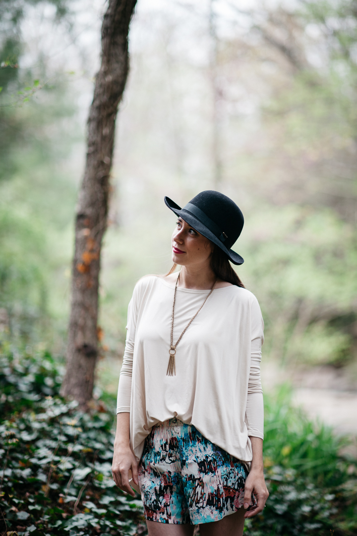 Christy's Foldaway Hat, Piko Top