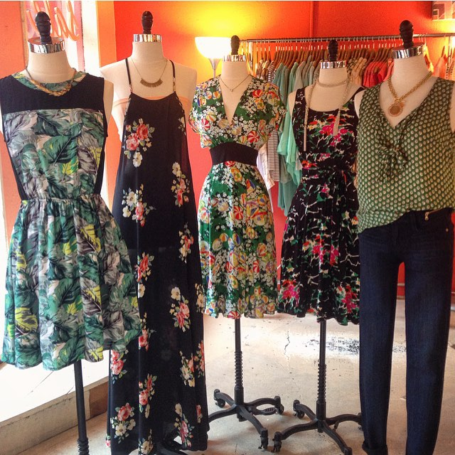 Jungle green and blooming! | #newarrivals #minxasheville