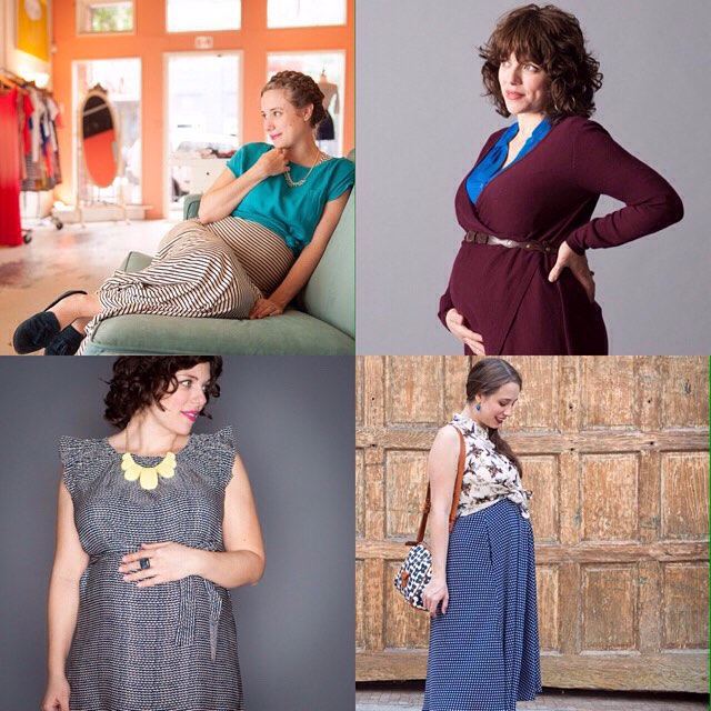 #Maternity wear woes? Our best styling tips for mamas-to-be are now on Minxasheville.com! #minxasheville #potd