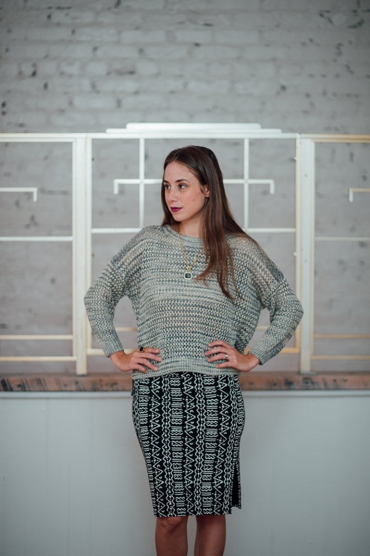 Shimmer Mesh Knit Sweater, French Connection