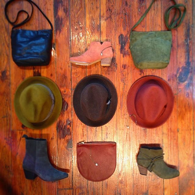 Baggu, Hats, and Shoes