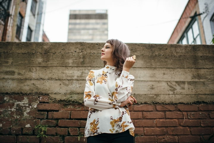 By Timo Floral Blouse