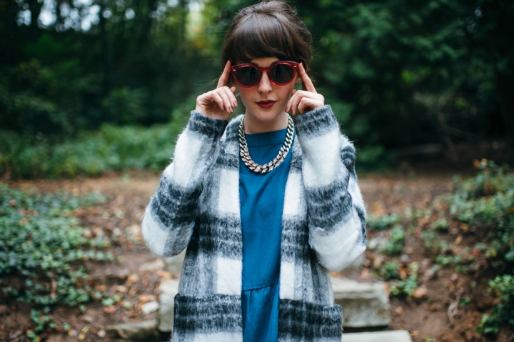 Just Female Wool Jacket, A Frames Kenya Sunglasses