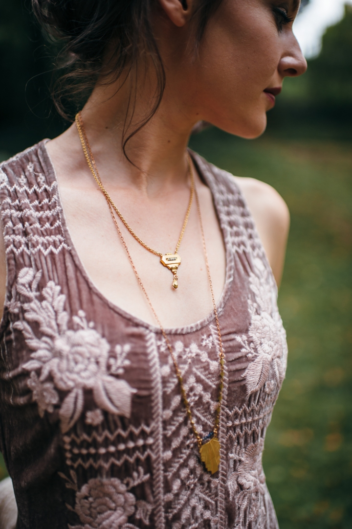 Sandy Hyun Necklace, Larissa Loden Necklace
