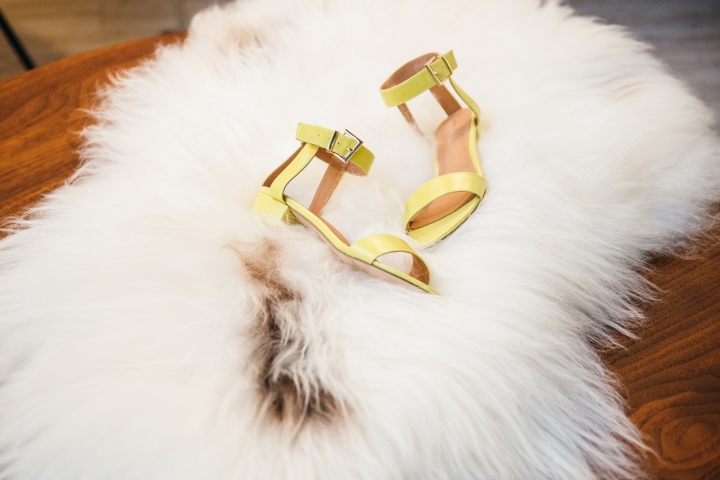 Blair Sandals in Lime, Chelsea Crew , Asheville, Minx Asheville, Minx Boutique