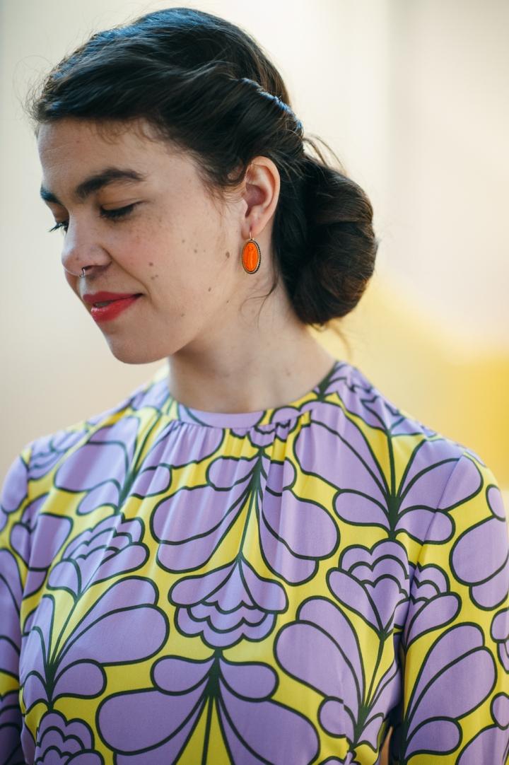Extasia Intaglio Earrings, Extasia Jewelry, Minx Boutique