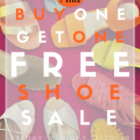 This Weekend- All Shoes BOGO FREE!