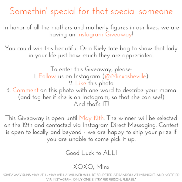 Mothers Day Giveaway Email 2017